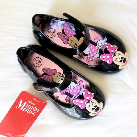 1f1e0d4de75 Disney Minnie Mouse Jelly Mary Jane Girls Shoes